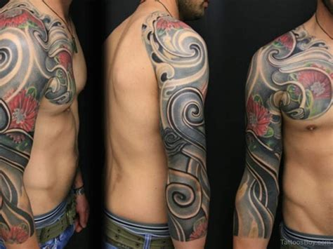 tribal full arm tattoos maori tribal tattoos designs pictures