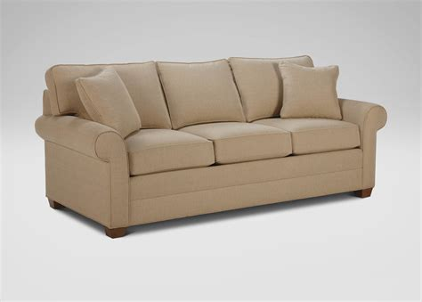 arm couch bennett roll arm sofa ethan allen