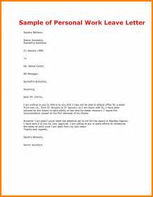 Leave Request Letter Sle To Manager 10 Request Letter For Leave Hostess Resume