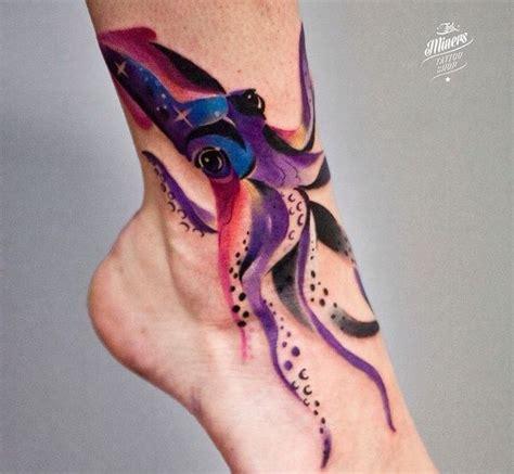 pulpo y calamar tatuajes y su significado tatuaje club
