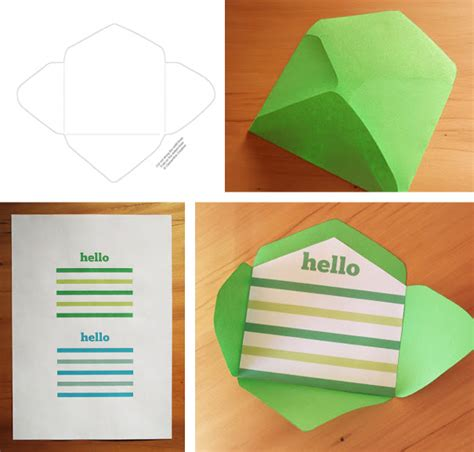 Free Printable Mini Envelope Templates And Liners Small Envelope Template
