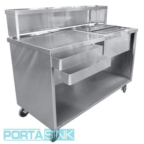 Gunting Lipat Portable Stainless Steel Portable Beverage Bar Stainless Steel Portable Sink Portable Sinks Portable Bars