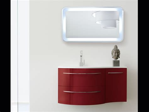 red bathroom vanity tahiti oasis bagni th7 modern italian bathroom vanity in