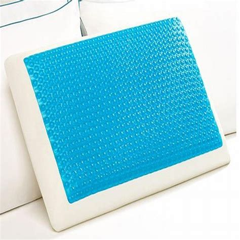 cooling bed pillow comfort revolution memory foam hydraluxe cooling bed
