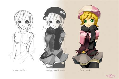 T Anime Character by Anime Character Design Ideas Www Imgkid The Image