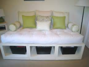 Daybed Hack Ikea White Storage Day Bed Diy Projects