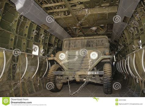 Inside Of A Jeep U S Army Jeep Inside Helicopter Editorial Photography
