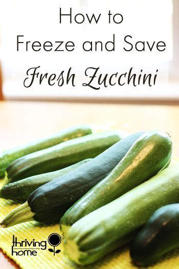 zucchini is really easy to stock up on and freeze you can use it months later to make breads