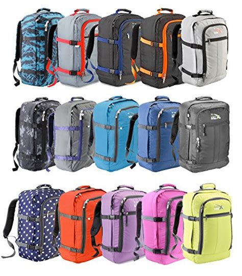 cabin luggage 55x40x20 cabin max backpack flight approved carry on bag 44