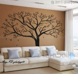 Tree Sticker Wall Decor giant family tree wall sticker vinyl art home decals room