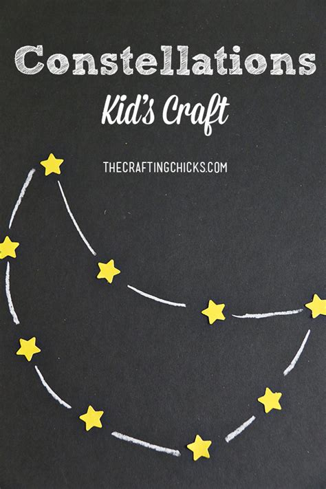 Constellations Kid Craft The Crafting