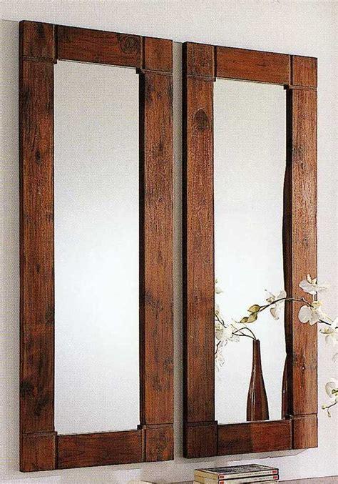 specchio bagno cornice specchio cornice legno teak etnico outlet mobili etnici