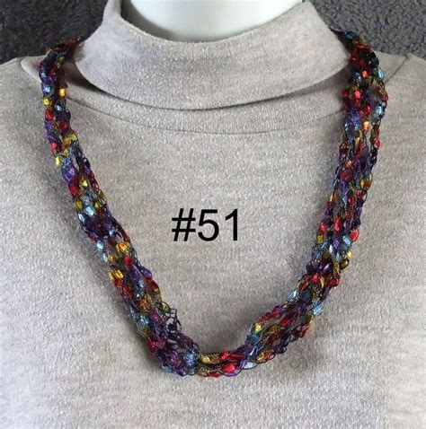 free pattern ladder yarn necklace free trellis yarn necklace patterns trellis ladder