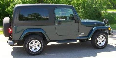Hardtop For 2005 Jeep Wrangler Unlimited 2005 Jeep Wrangler Unlimited Lj For Sale In Schofield