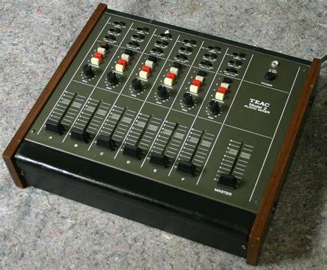teac model 2 audio mixer ebay