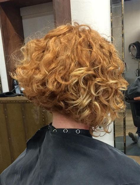 angled bob for curly hair 50 most delightful short wavy hairstyles