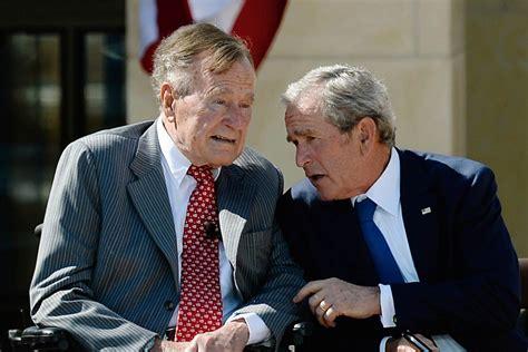 george w bush former presidents george h w bush and george w bush stay clear of wh race nbc news