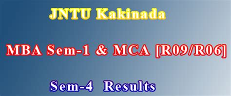 Jntu Mba Results Manabadi 2017 by A Png Ap2tg