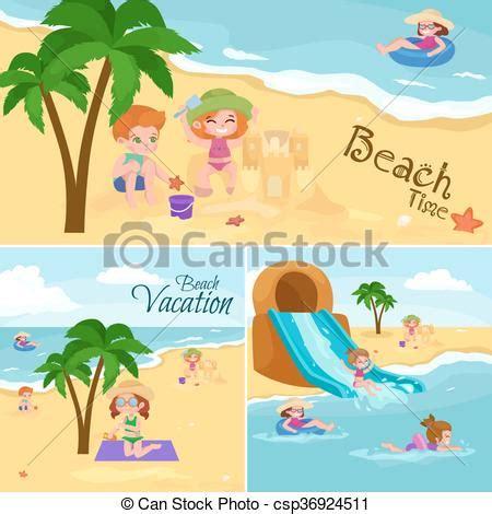 el agua para ninos clip art vector clip art de verano ni 241 os alrededor vacaciones