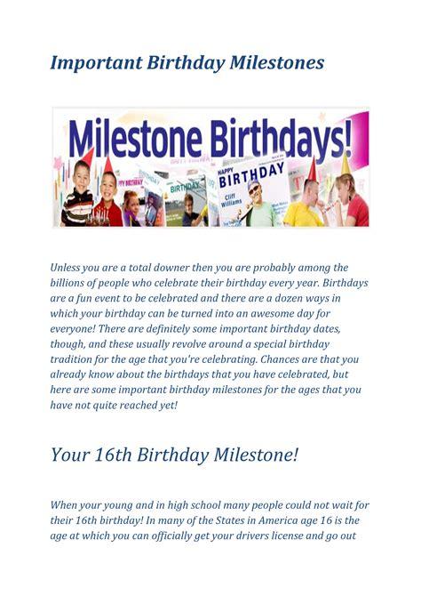 Milestone Birthday Quotes Milestone Birthday Quotes Quotesgram