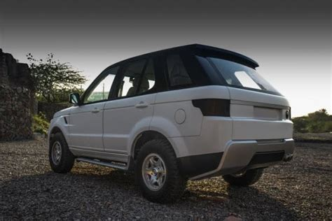range rover evoque modified tata safari modified into a range rover evoque