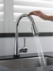 kitchen sinks with faucets brizo venuto smarttouch faucet contemporary kitchen