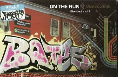 on the run books graffiti files on the run blackbooks vol 2 bates