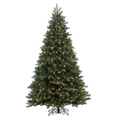artificial white trees with lights the aisle 6 5 green spruce artificial