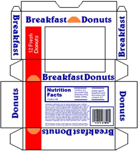 printable elf donut box template small stuff s printmini printable dollhouse miniatures