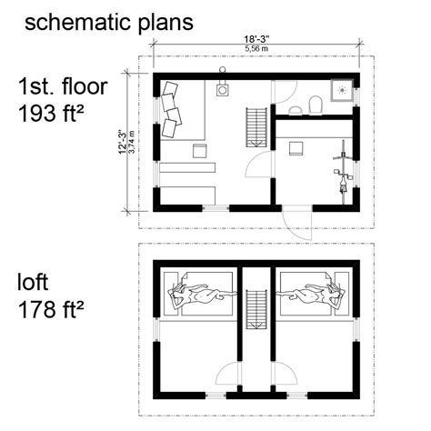 small house floor plans with loft small cottage floor plans with loft cottage cabin floor
