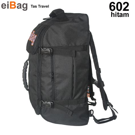 Tas Travel Pouch Cozmeed Ruffy Hitam jual tas travel jual tas travel bag murah produk bandung