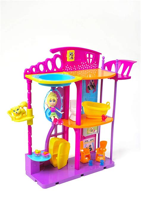 polly pocket hangout doll house new free shipping ebay