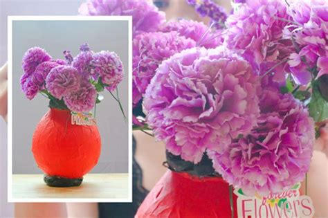 How To Make A Paper Mache Flower - make paper mache flowers image search results