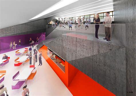 Floor Plan 3d gallery of in progress the new school university center