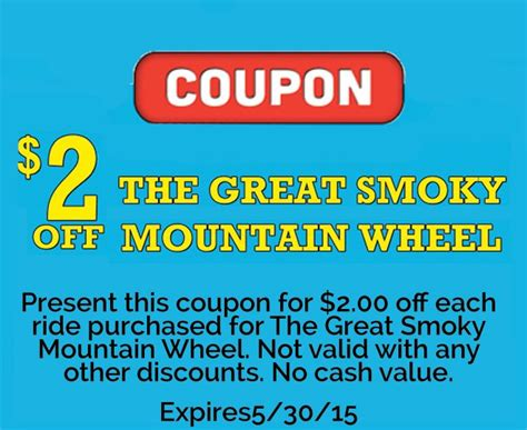 printable restaurant coupons for pigeon forge tn 17 best group rates gatlinburg pigeon forge