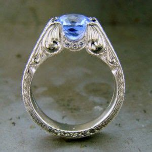 sapphire vintage style and sapphire rings on