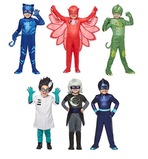 pj masks party punch plus pj mask costumes now in stores two kids and a coupon