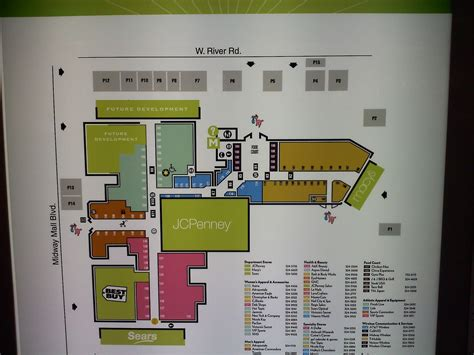 layout of great northern mall dead and dying retail midway mall dying or recovering