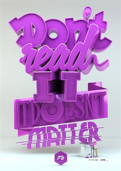 3d typography 25 3d typography poster designs ideas free premium templates