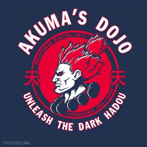 T Shirt Tekken 01 fighter t shirt design akuma shirt