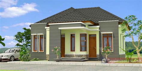 desain rumah ukurn 6x9 tamak depan rumah sederhana