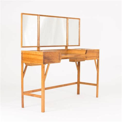 Vanity Table L Walnut Vanity Table By Carl Axel Acking For Sale At 1stdibs