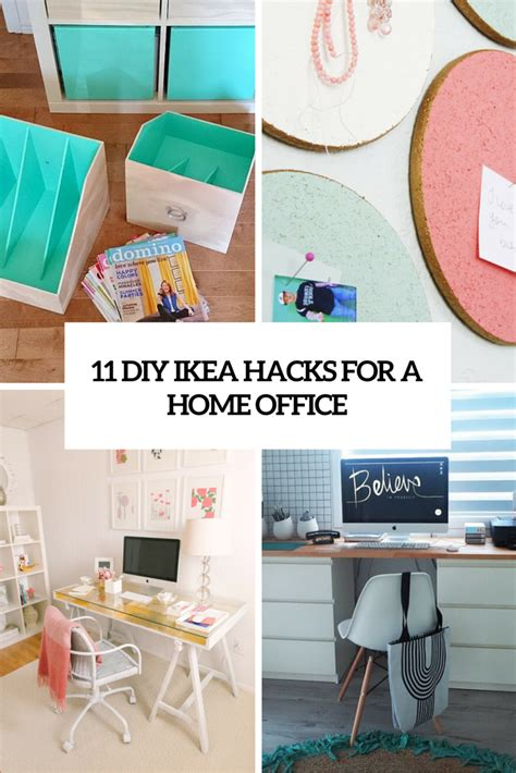 ikea office hack 11 exciting ikea hacks for any home office shelterness