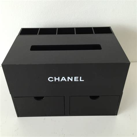 Kate Spade Home Decor Chanel Chanel Jewelry Make Up Box Organizer Black