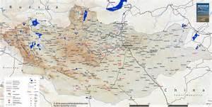 une nouvelle carte de mongolie la mongolie en 4 215 4
