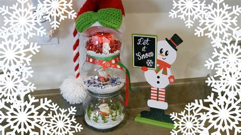 dollar tree christmas tree decoration youtube diy fishbowl snowman dollar tree 99 cent store thrift store decor