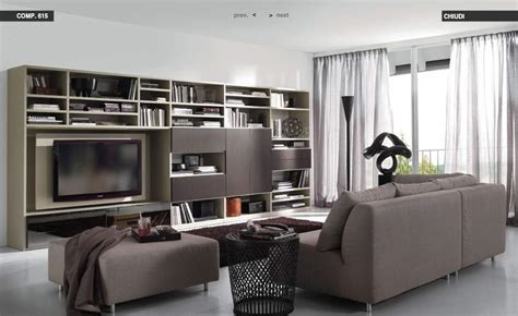 Black And Brown Living Room by Darkbrown Bookcase Livingroom With Sofa