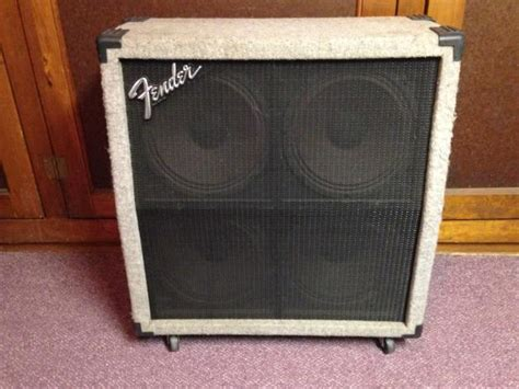 How To Build A Guitar Cabinet 4x12 by Fender 4x12 Angled Guitar Cabinet Reverb