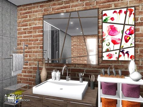 estilo bathroom estilo bathroom the sims 3 download simsdom