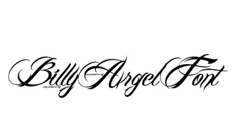 tattoo font billy argel 25 beautiful free handwriting fonts for photoshop designdune